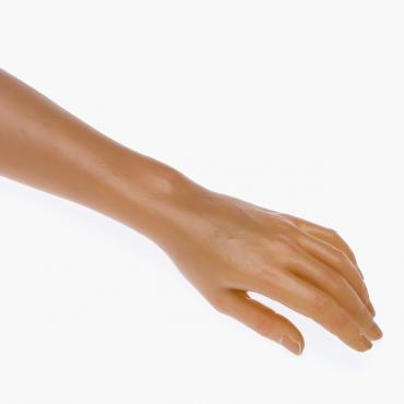 Kosmetikhandschuh (leicht nach unten)